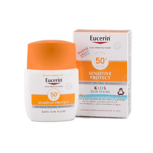 Eucerin Kids Sun Fluid Sensitive Protect Spf 50+ 50ml